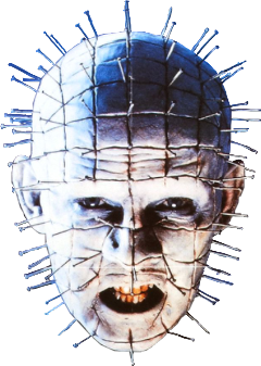 Pinhead drawing hellraiser box. Popular and trending stickers