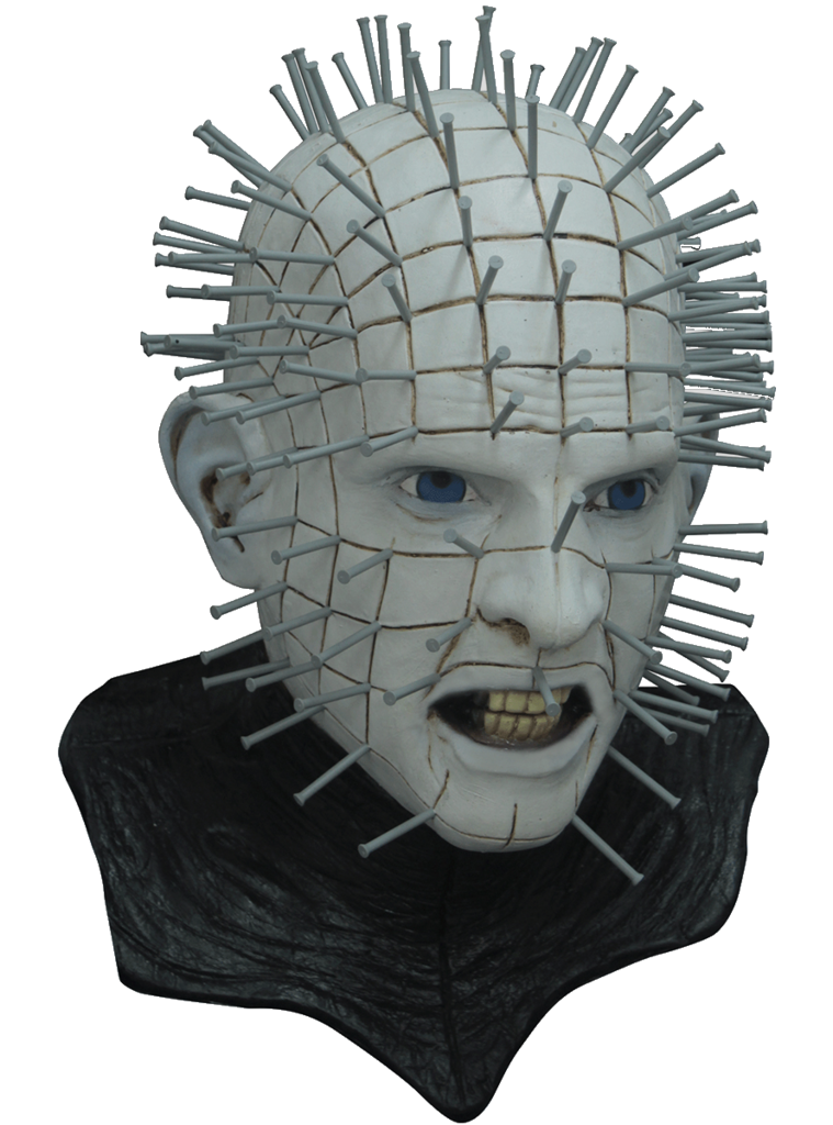 Mask . Pinhead drawing hellraiser box graphic black and white library