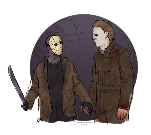 Myers vs voorhees tumblr. Pinhead drawing jason freddy michael picture freeuse