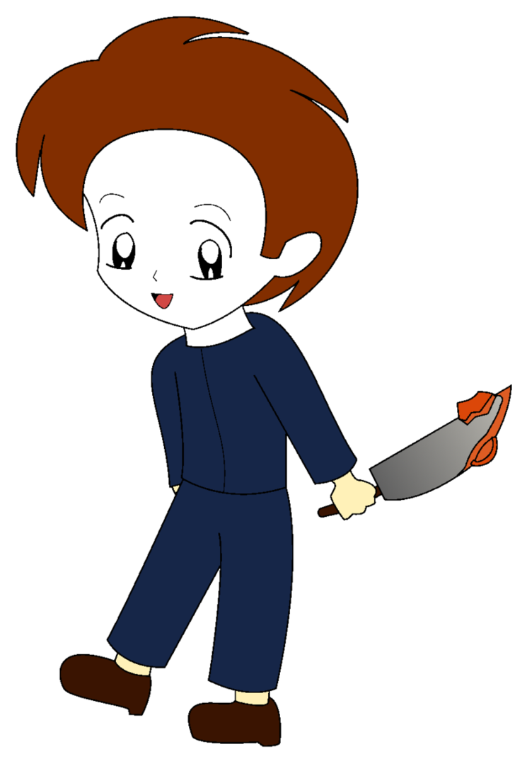 Michael clipart at getdrawings. Pinhead drawing mike myers halloween clip free