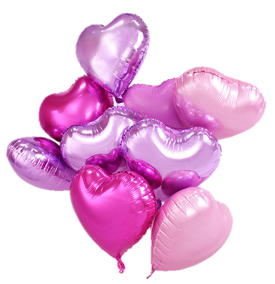 Pink aesthetic png. Purple balloon balloons shiny