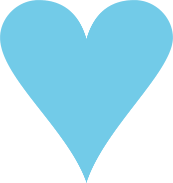 pink and blue hearts png