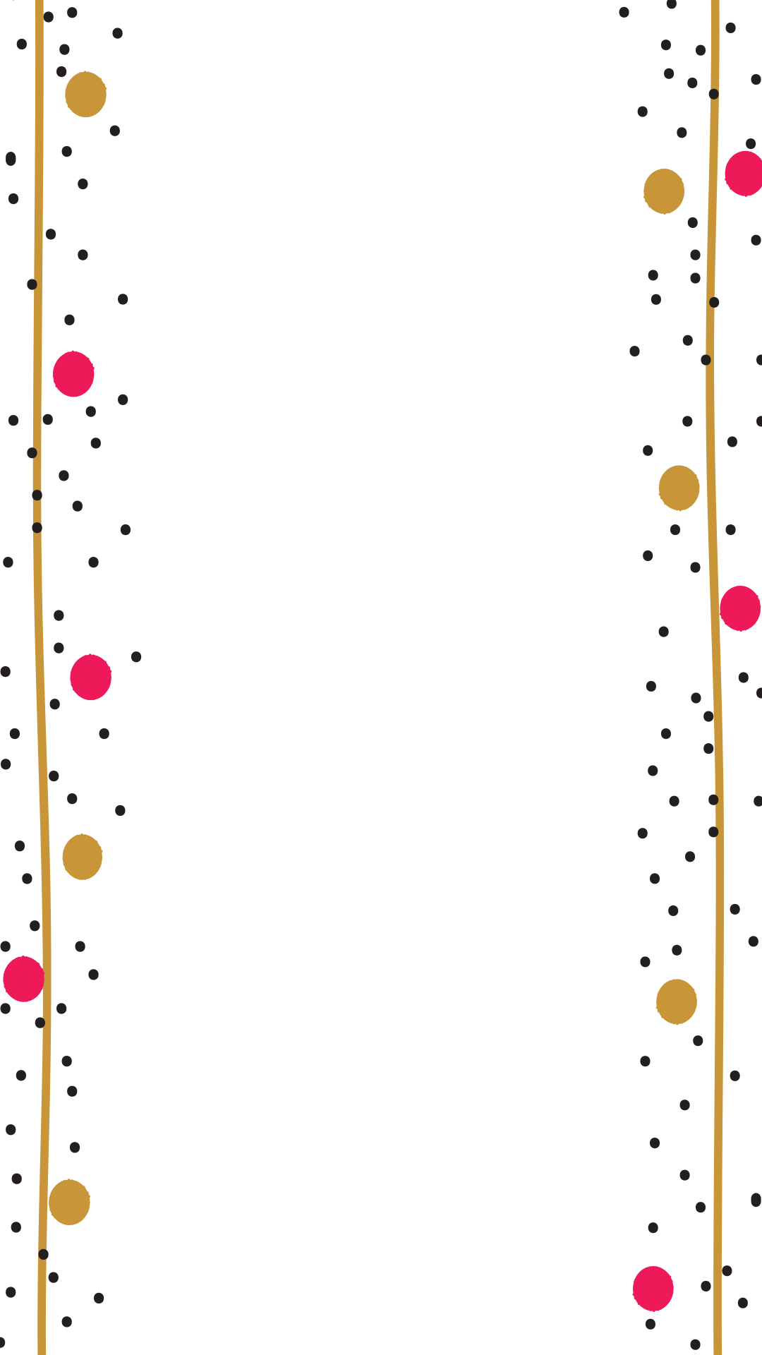 Pink and gold confetti png. Birthday snapchat filter geofilter