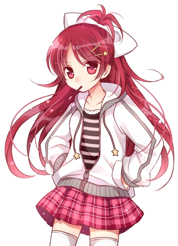 female student checkered skirt cartoon png