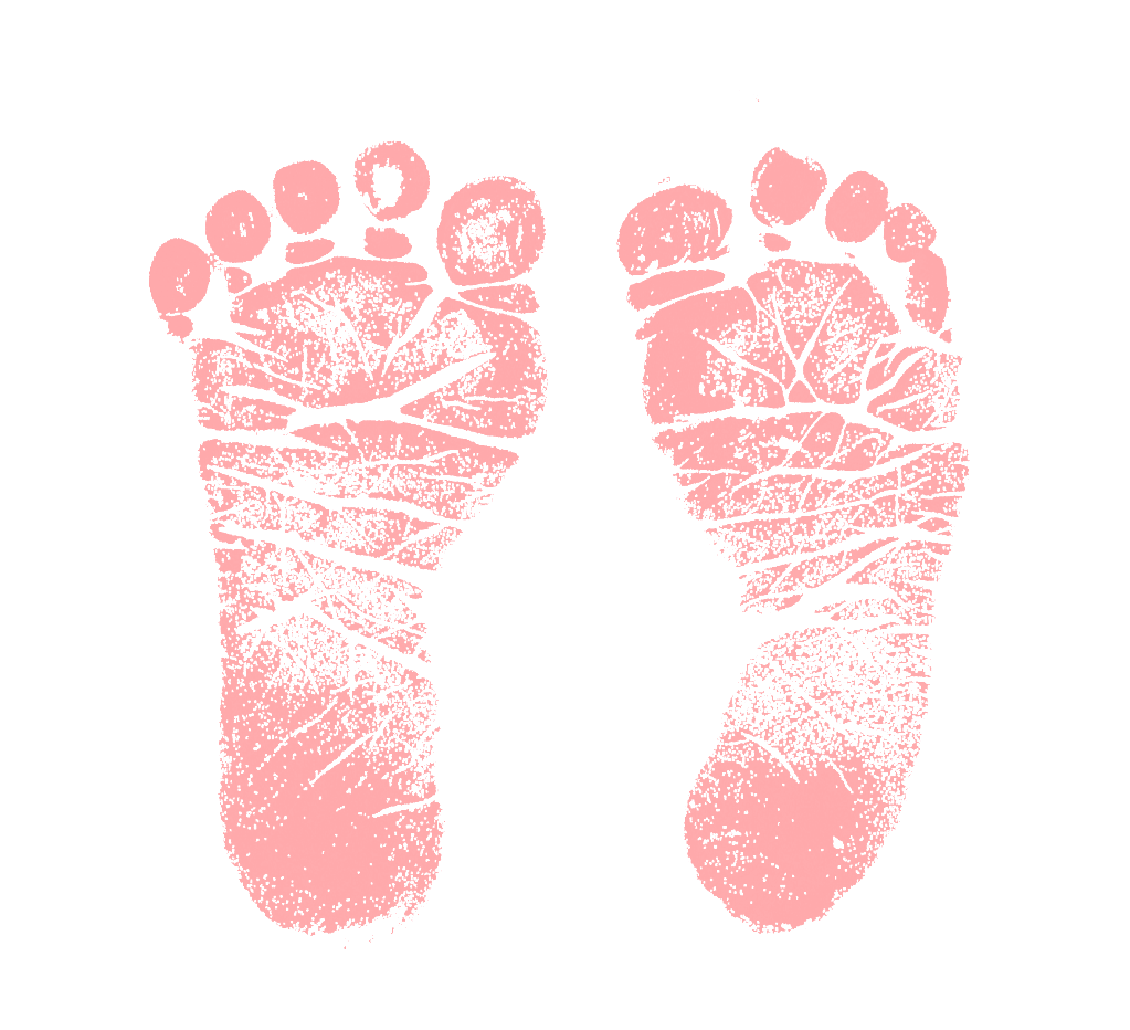 Pink baby feet png. Collection of clipart