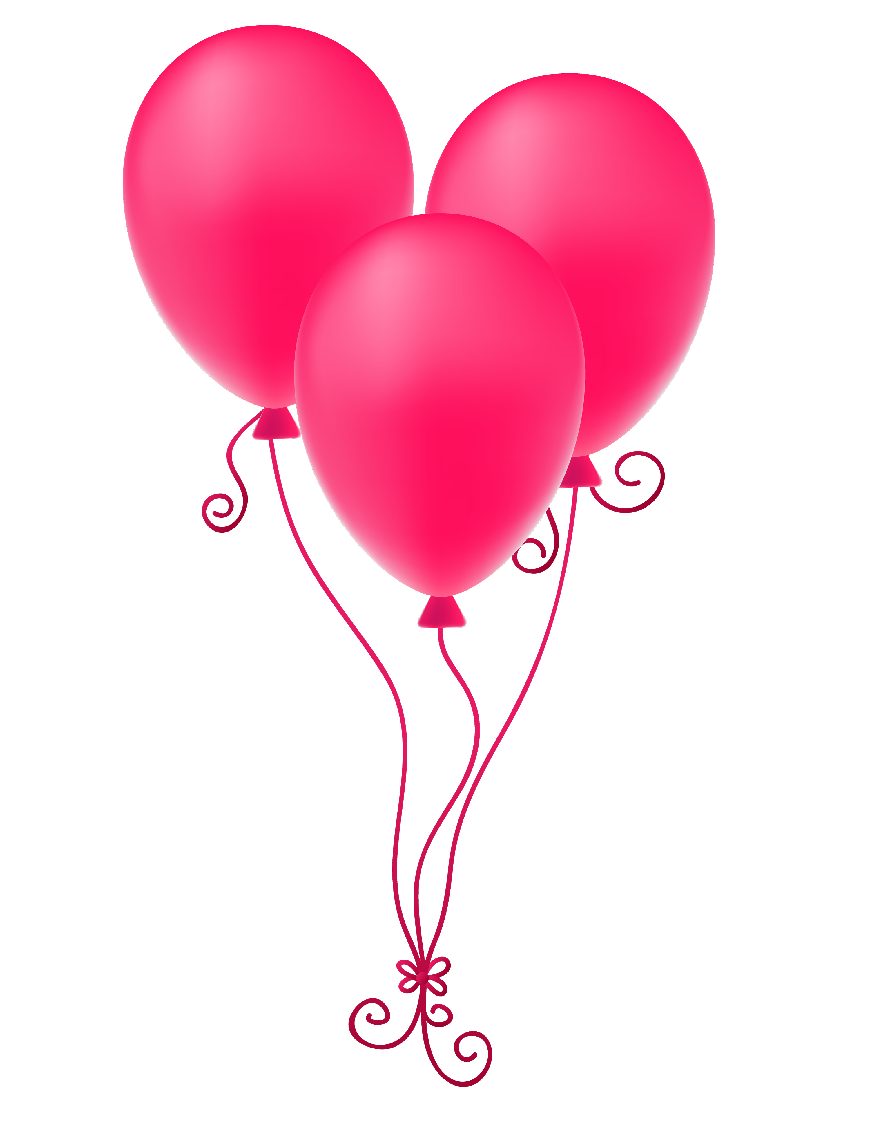 Pink balloons png. Image transparent best stock