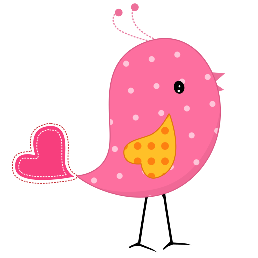 Pink bird png. And yellow birds minus