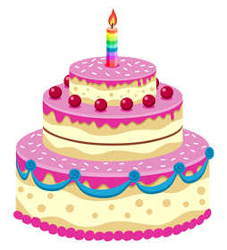 Pink cake png. Best birthday images free