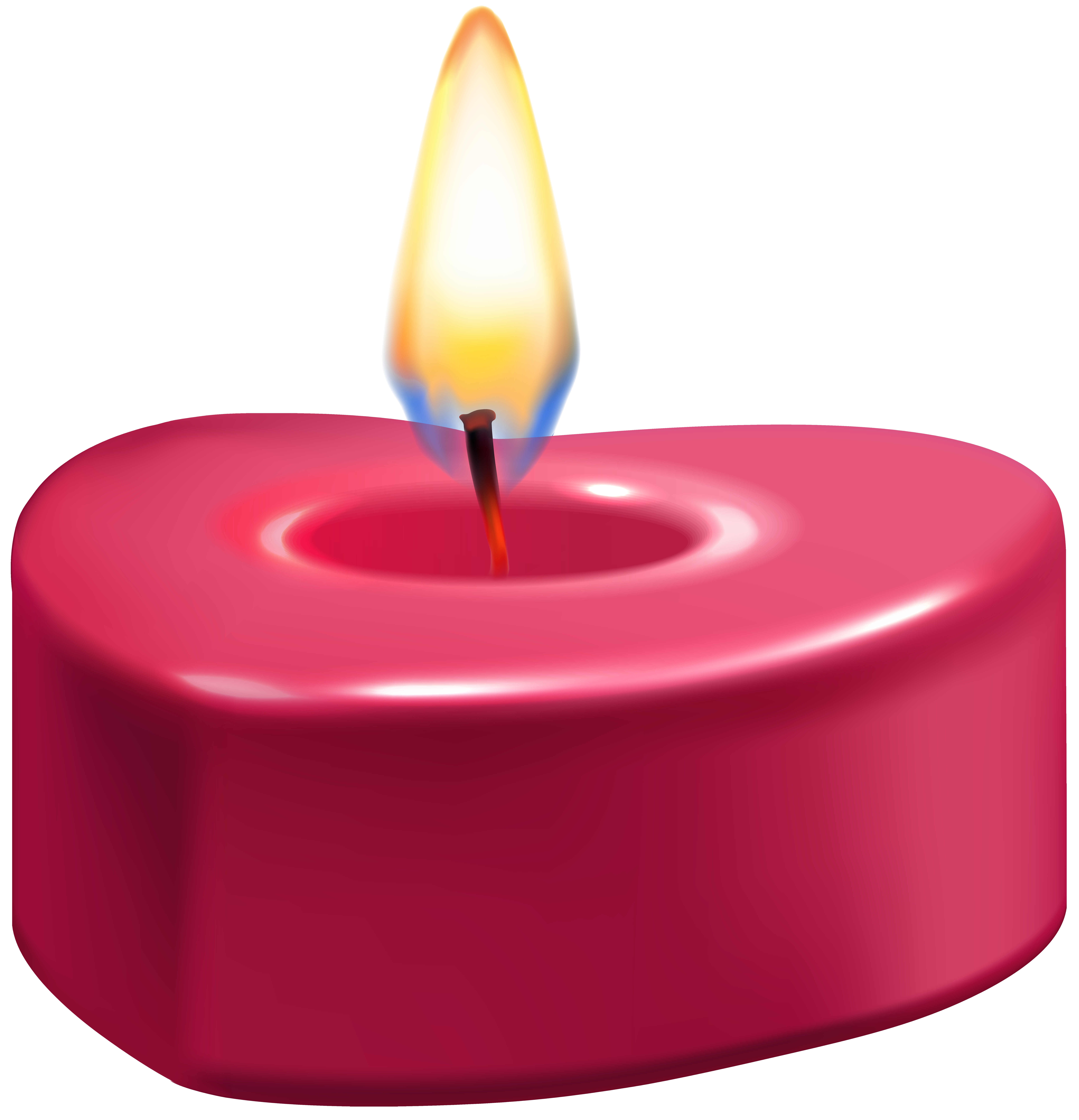 Candles clipart png. Heart candle clip art