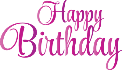 Happy birthday font png. Images free download