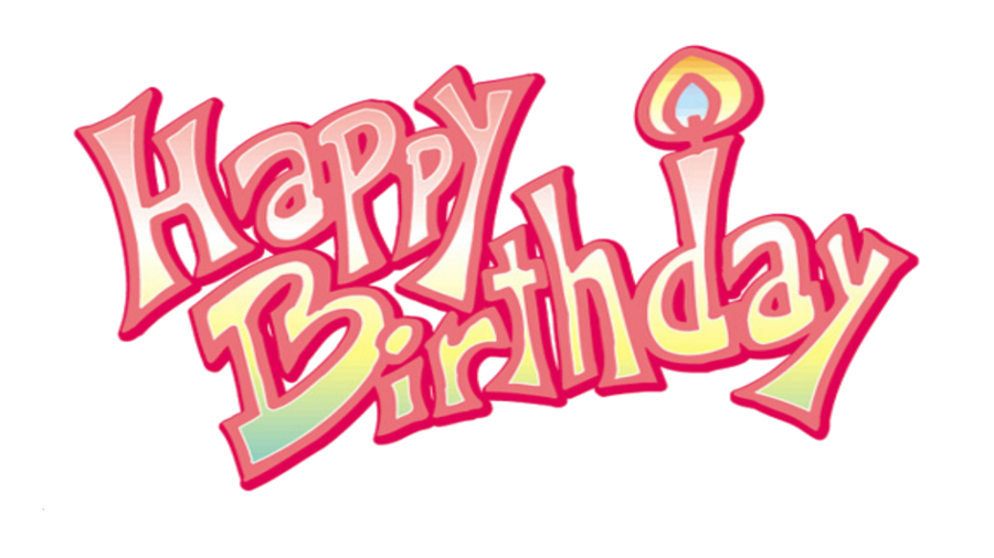 Pink birthday png. Image happy avatar roleplay
