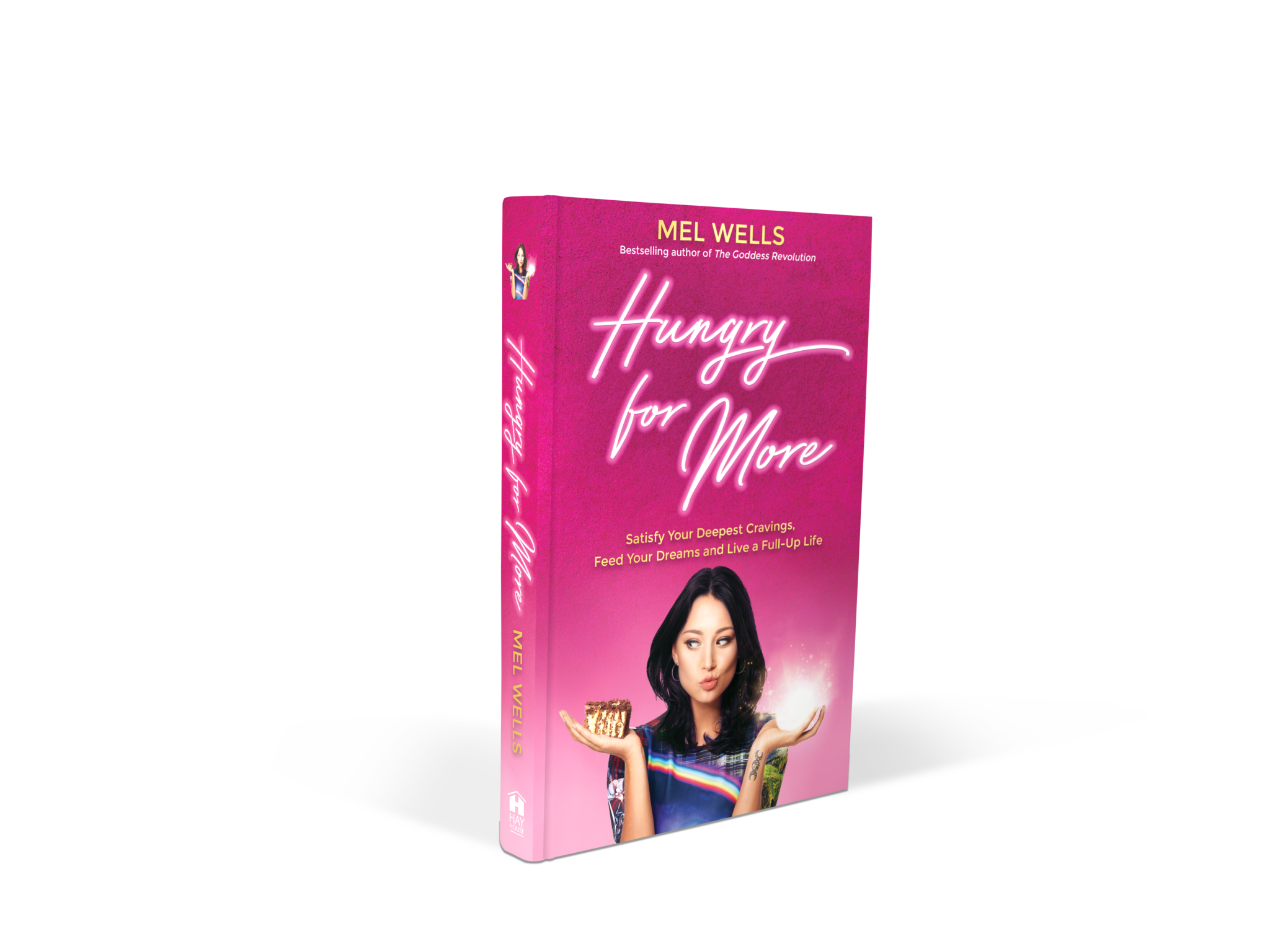 Pink book spine png. Signed copy of hungry