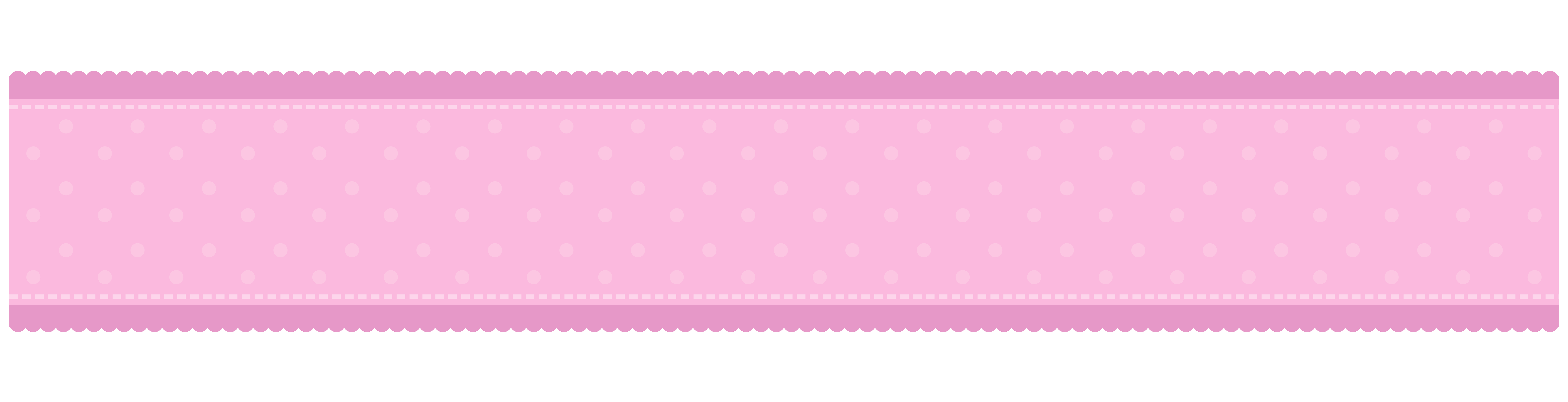 Pink border png. Decorative with hearts clip