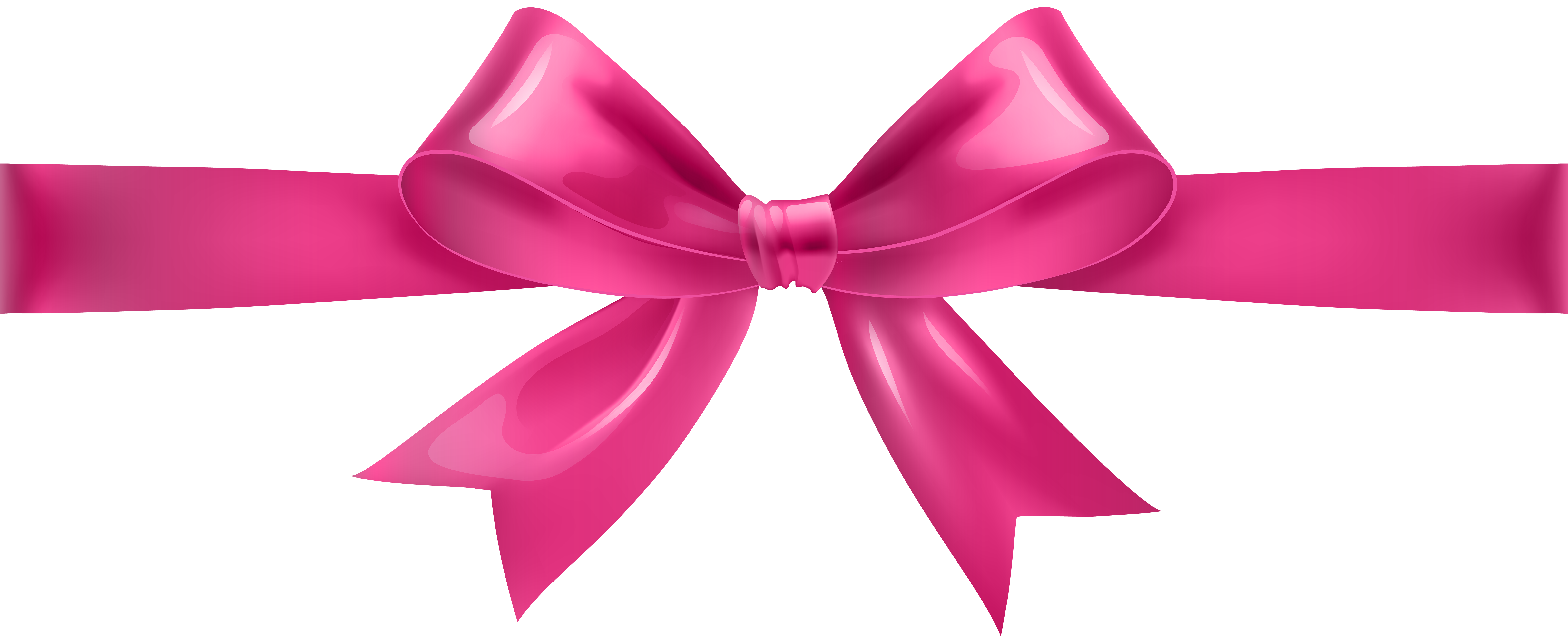 Pink bow png. Transparent clip art gallery