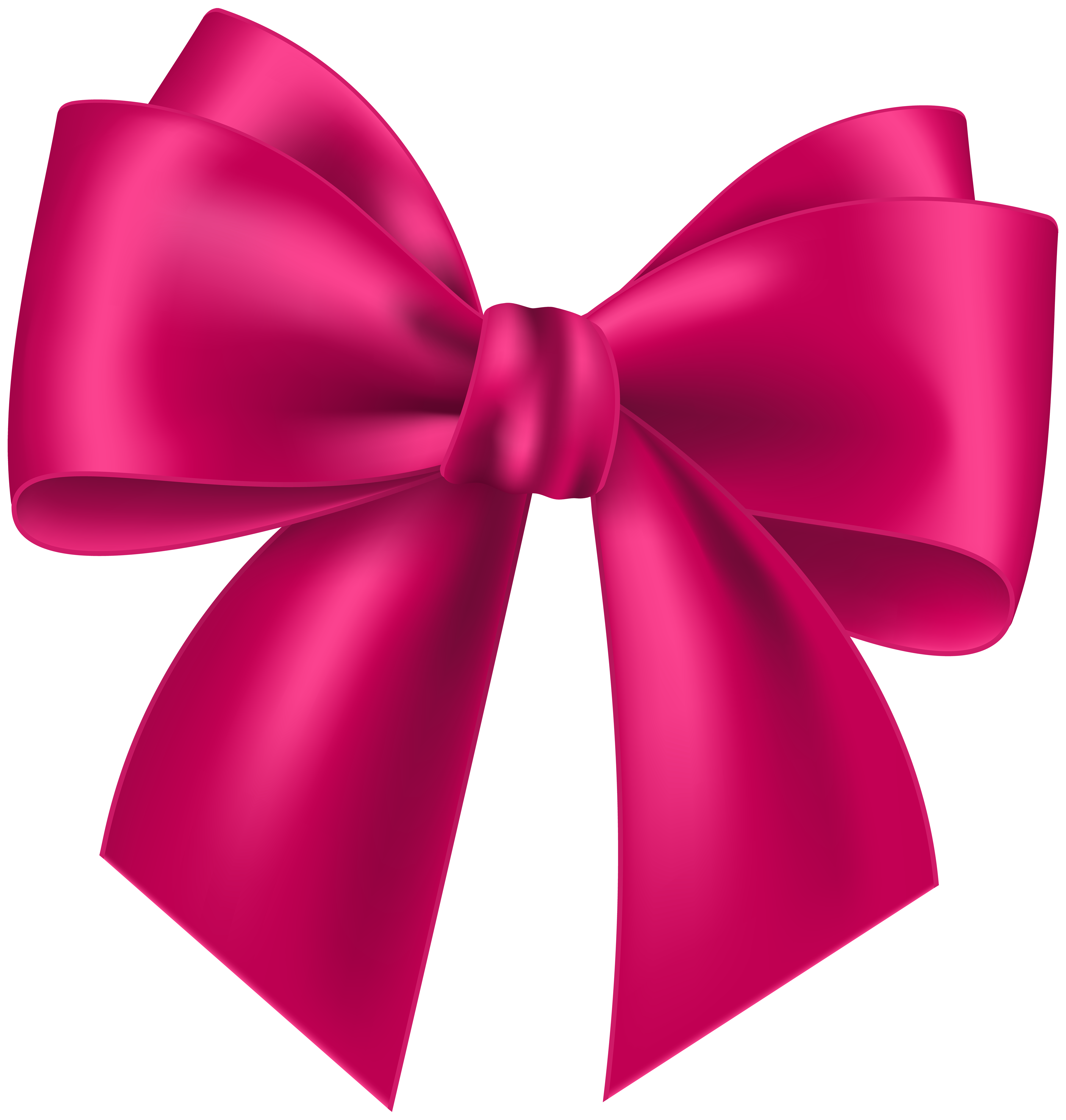 Transparent clip art image. Pink bow png vector royalty free stock