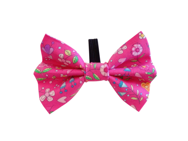 Pink bow tie png. Pretty in