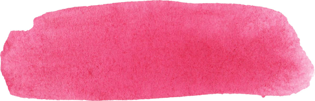 Pink paint stroke png. Watercolor brush banner