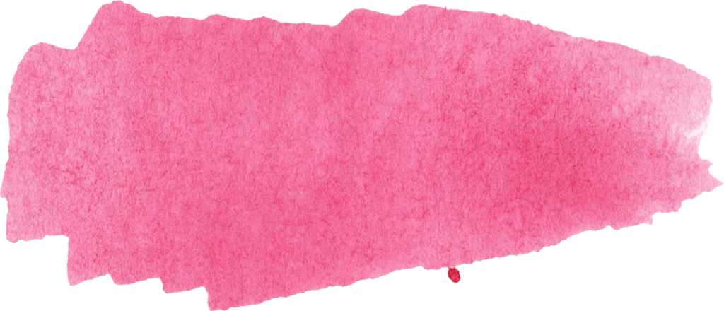 Pink brush stroke png. Watercolor banner transparent