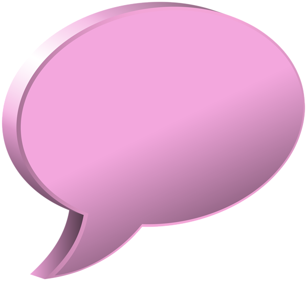 Pink bubble png. Speech transparent image gallery