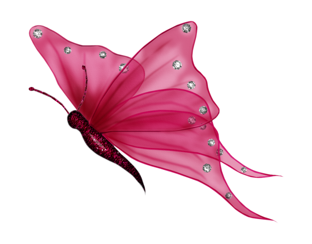 Pink butterfly png. Photo by just udesigns