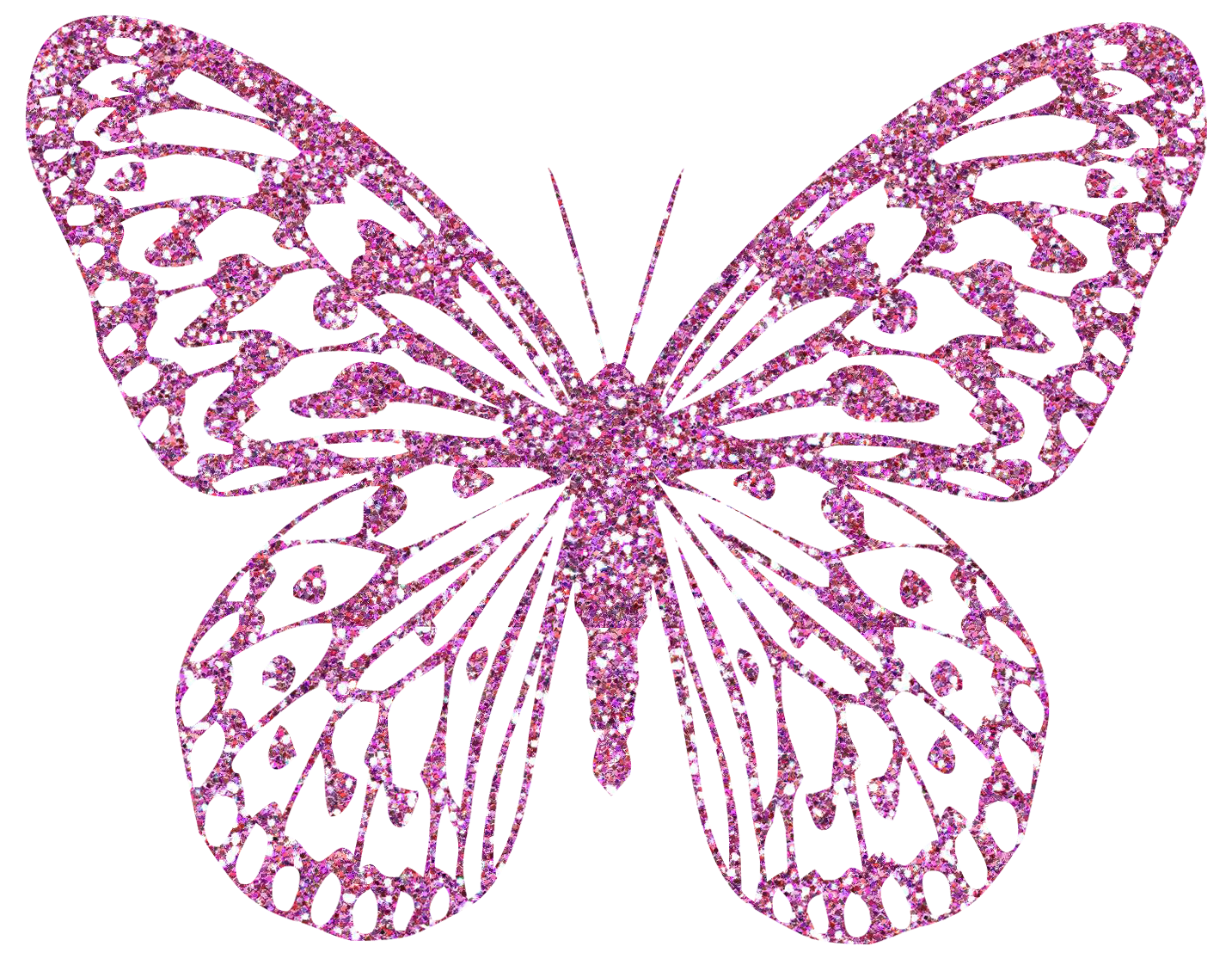 Pink butterfly png. Decorative clipart image gallery