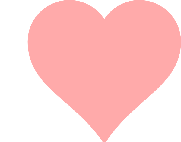 heart, png pastel pink