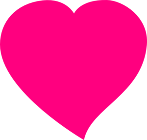 Pink clipart heart. Panda free images pinkheartclipart