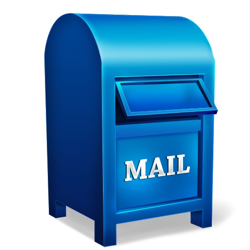 Pink clipart mailbox. Mail box icon png