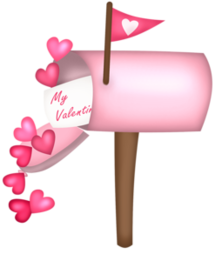Pink clipart mailbox. Lilia png pinterest mailboxpng