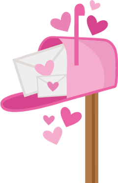 Pink clipart mailbox. Popular and trending stickers