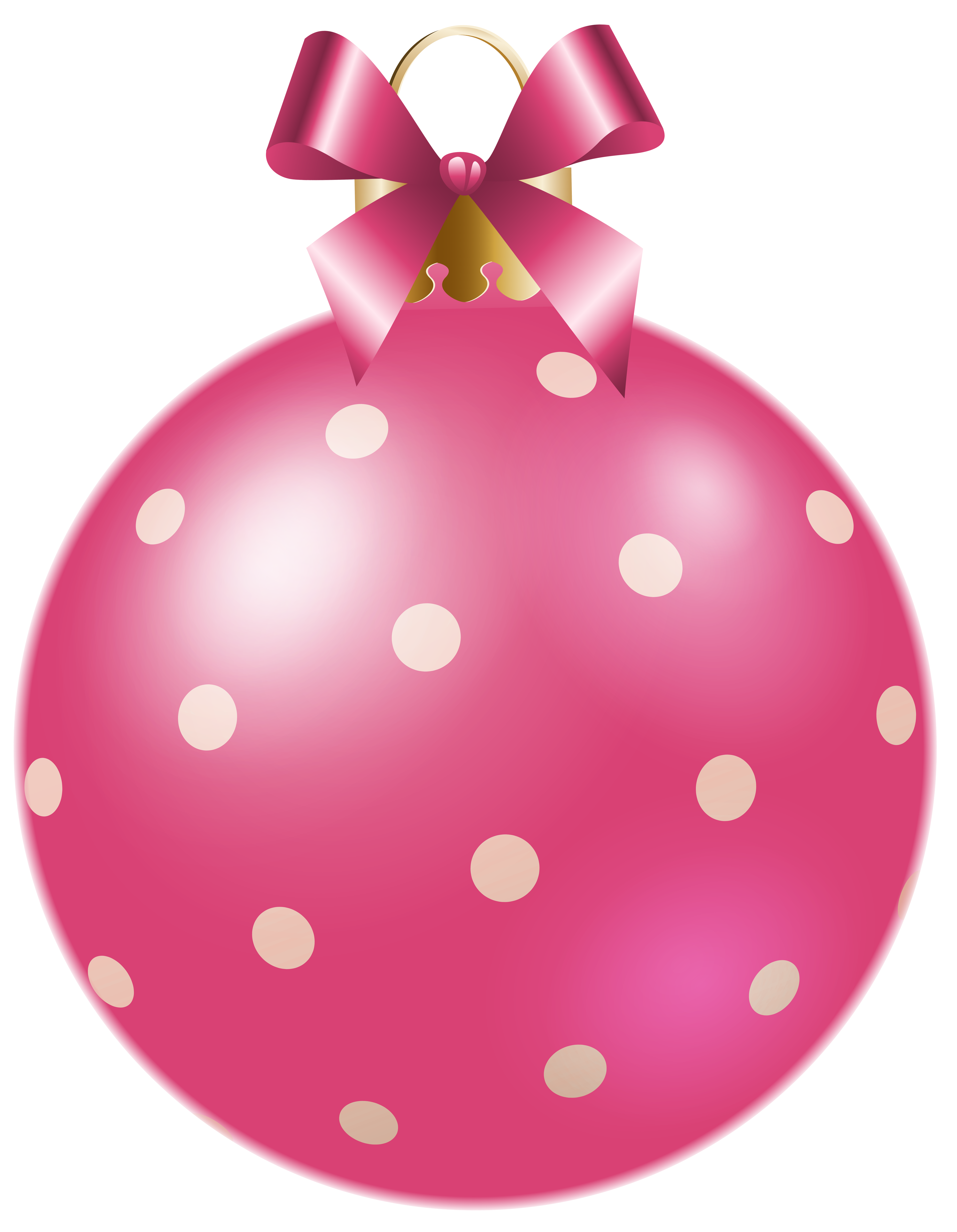 Xmas clipart pink. Christmas dotted ball png