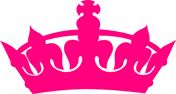 Pink crown png. Clipart