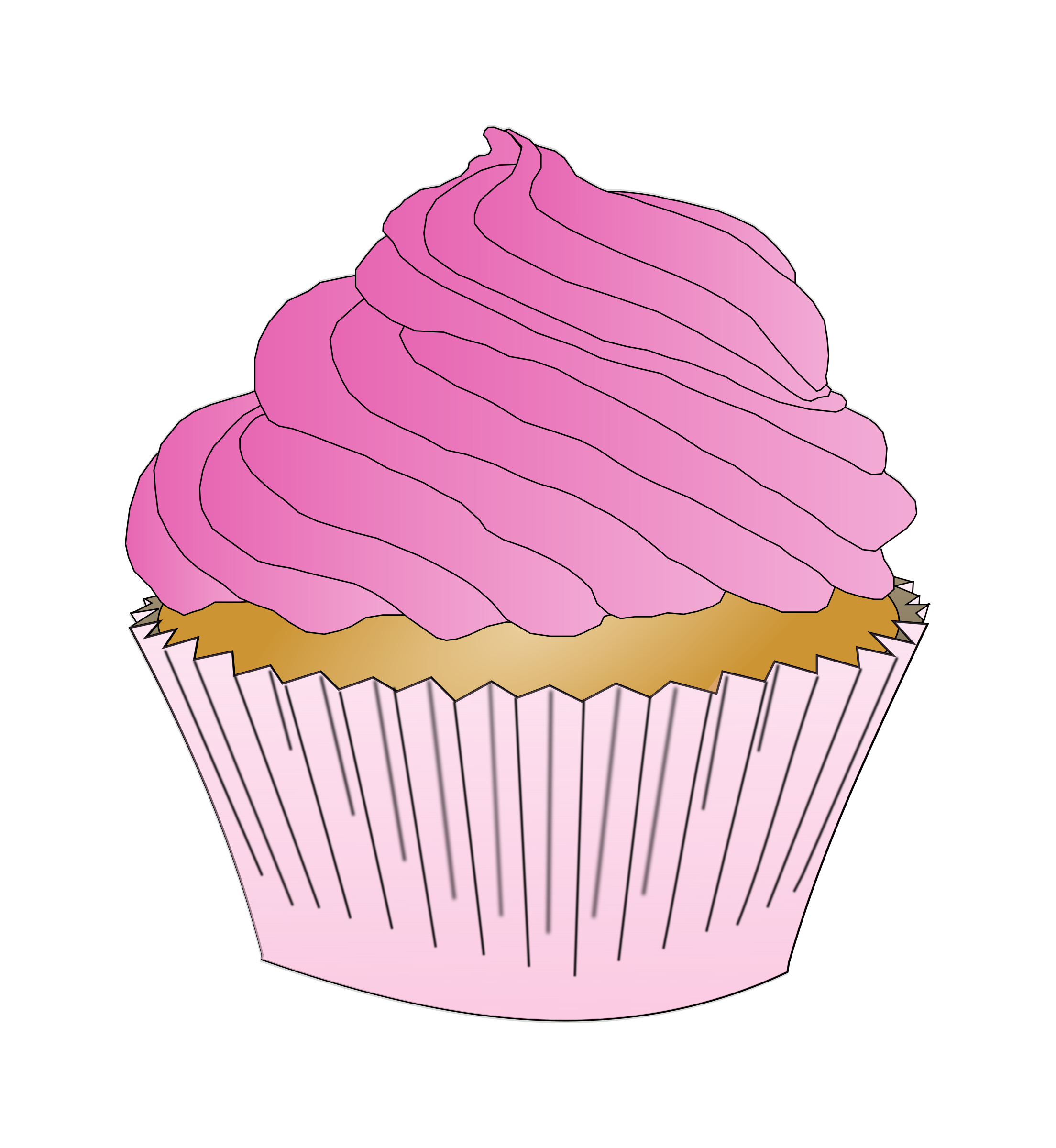 Pink cupcake png. Icons free and downloads