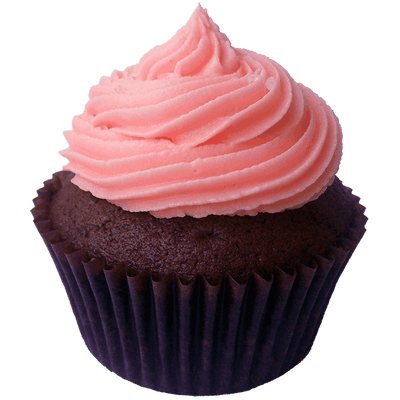 Pink cupcake png. Transparent stickpng rose