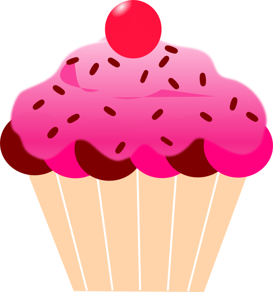 Vector cupcakes simple