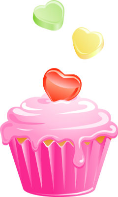 Pink cupcake png. Clipart images