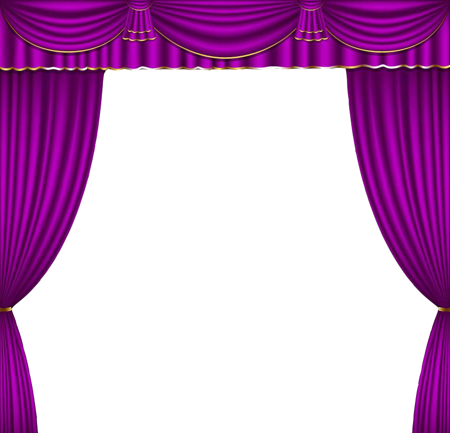 Pink curtain png. Theater drapes and stage