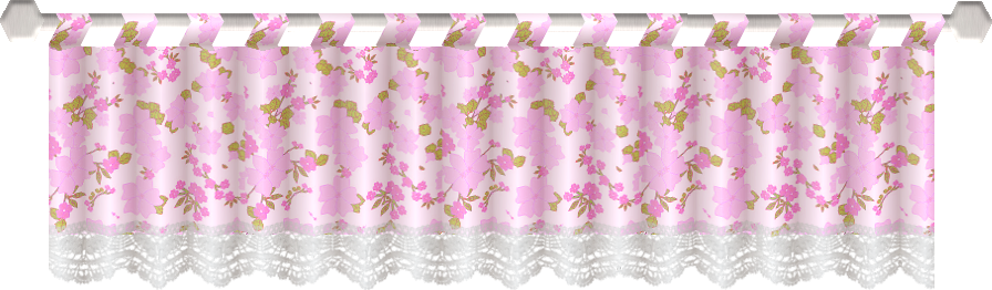 Pink curtain png. File with flowers wikimedia