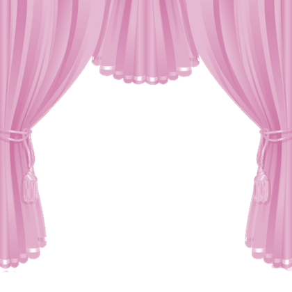 Pink curtains png. Roblox