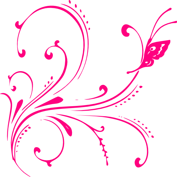 Pink design png. Butterfly by hasnasone on