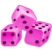 Pink dice png. By ak shirts spreadshirt