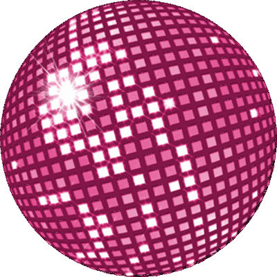 Pink disco ball png. Blossom