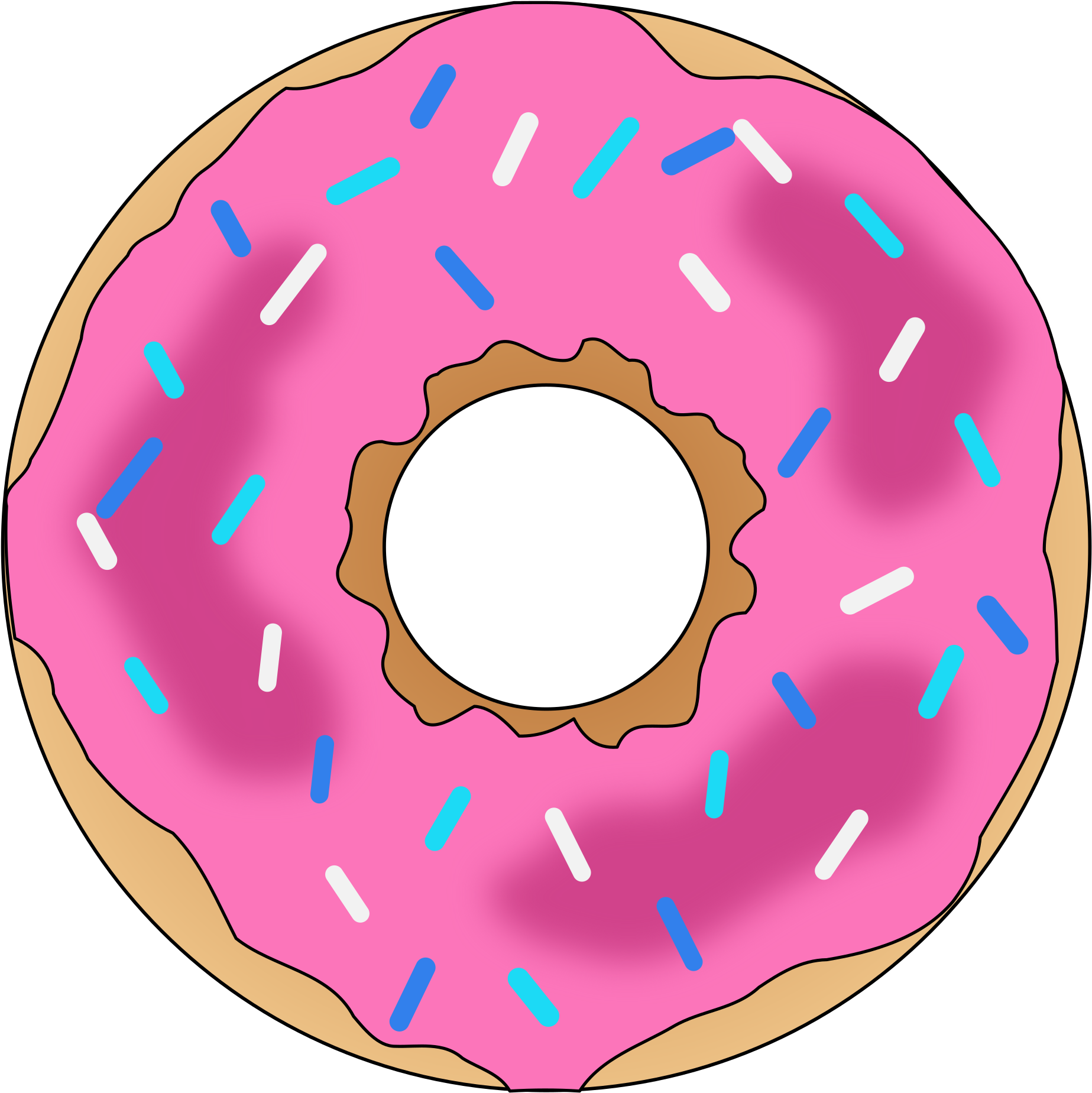 Pink donut png. Download hd icons transparent