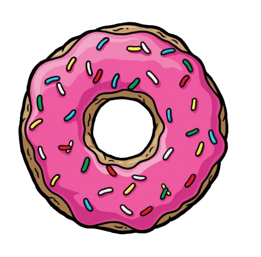 Pink donut png. Free images toppng transparent