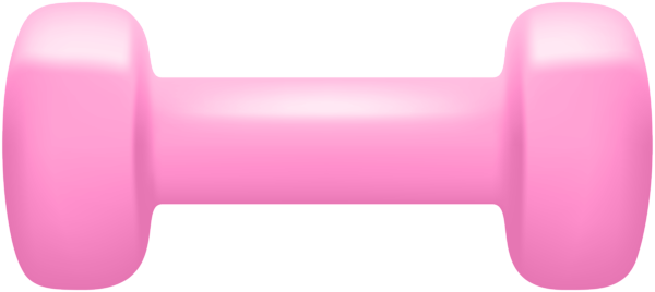 Pink dumbbell png. Clip art image gallery