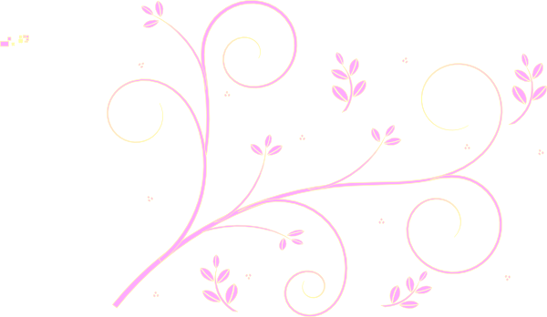 Pink floral png. Swirl clip art at
