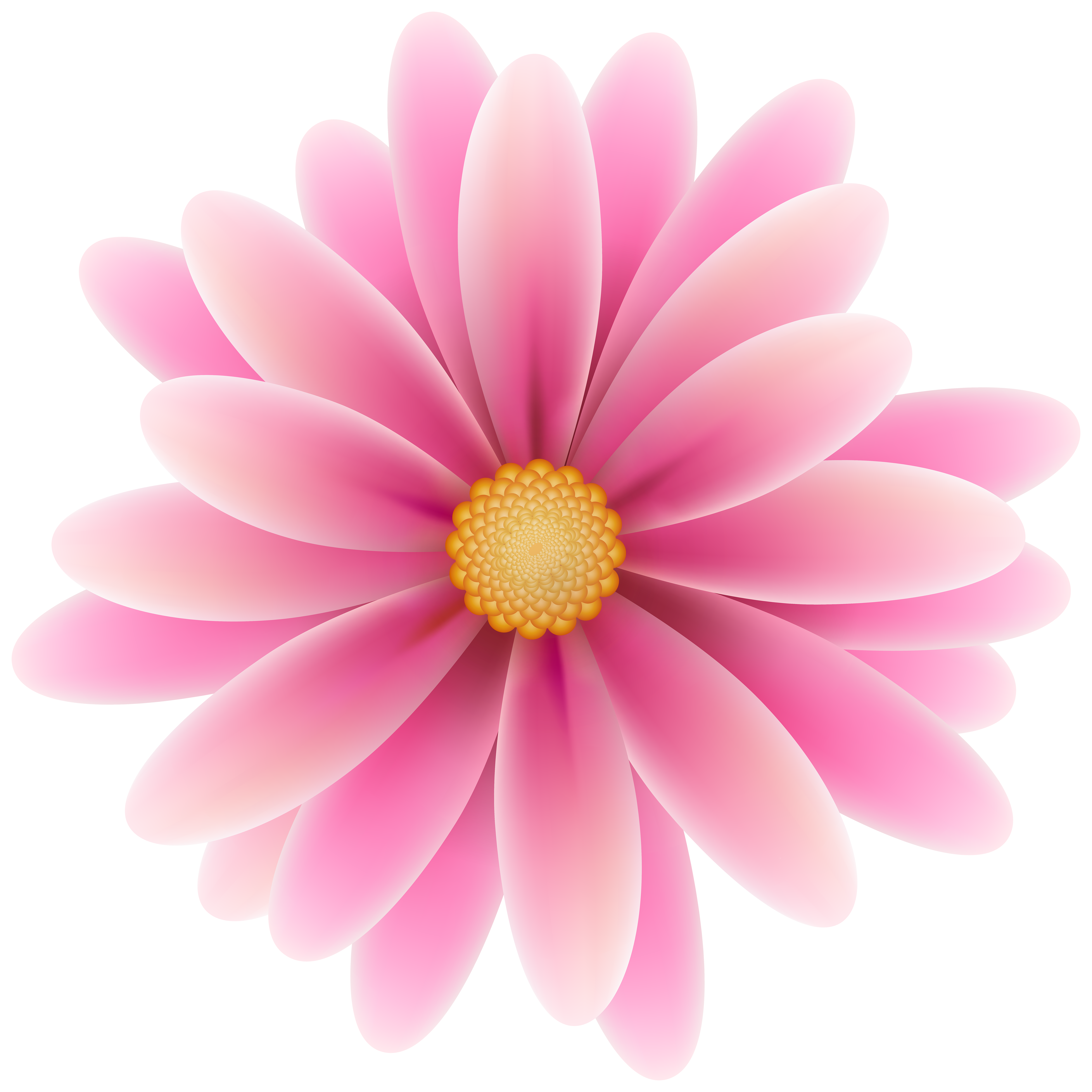 Pink flower clipart png. Clip art image gallery