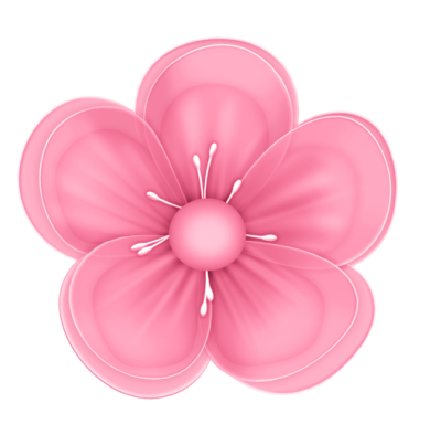 Pink flower. Dote on you purple