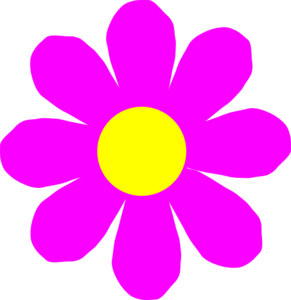 Mexican flowers vector png. Pink flower clip art