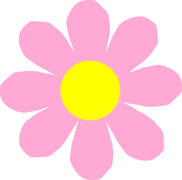 Pink flower vector png. Purple clip art at